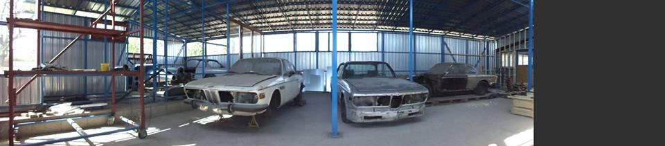 CSL garázs