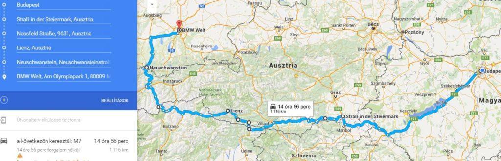 autós térkép