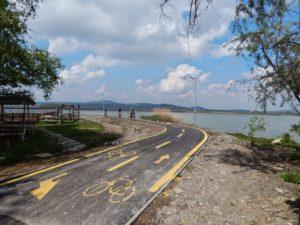Velencei bicikli út